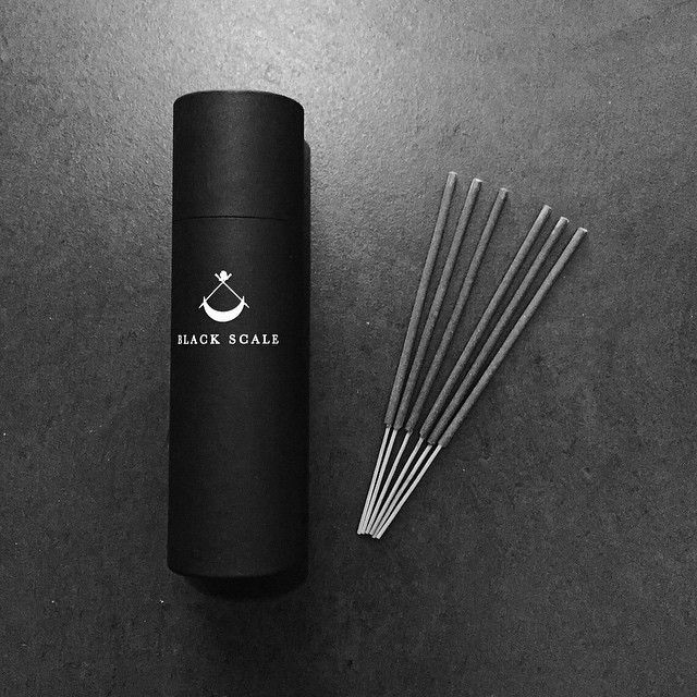 """""""Our custom fragrance Black Scale x Kuumba Incense from Japan are now available at Black Scale SF, Black Scale NY, Black Scale LA and Black Scale TOKYO."""""""
