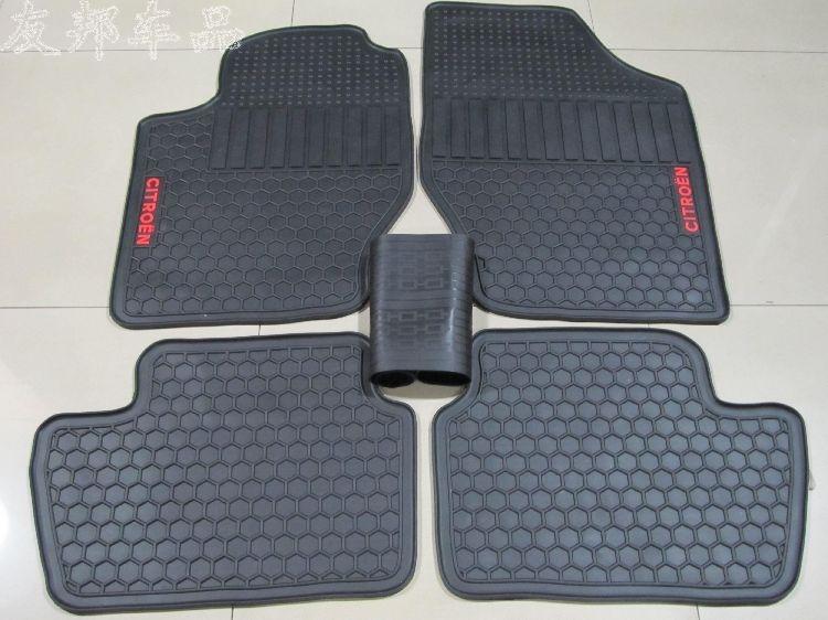 6660 Buy here dedicated no odor rubber car floor mats green