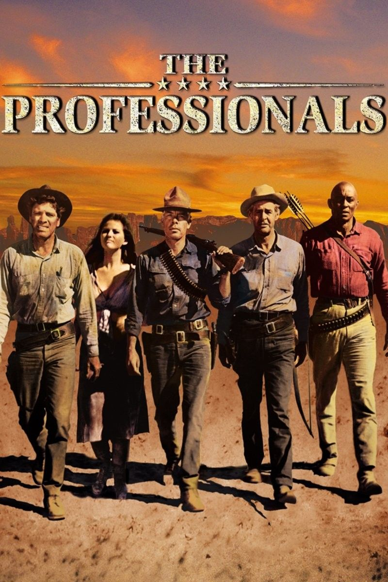 Jack Palance Filmes Best the professionals (1966) - Οι επαγγελματίες (1966) : burt