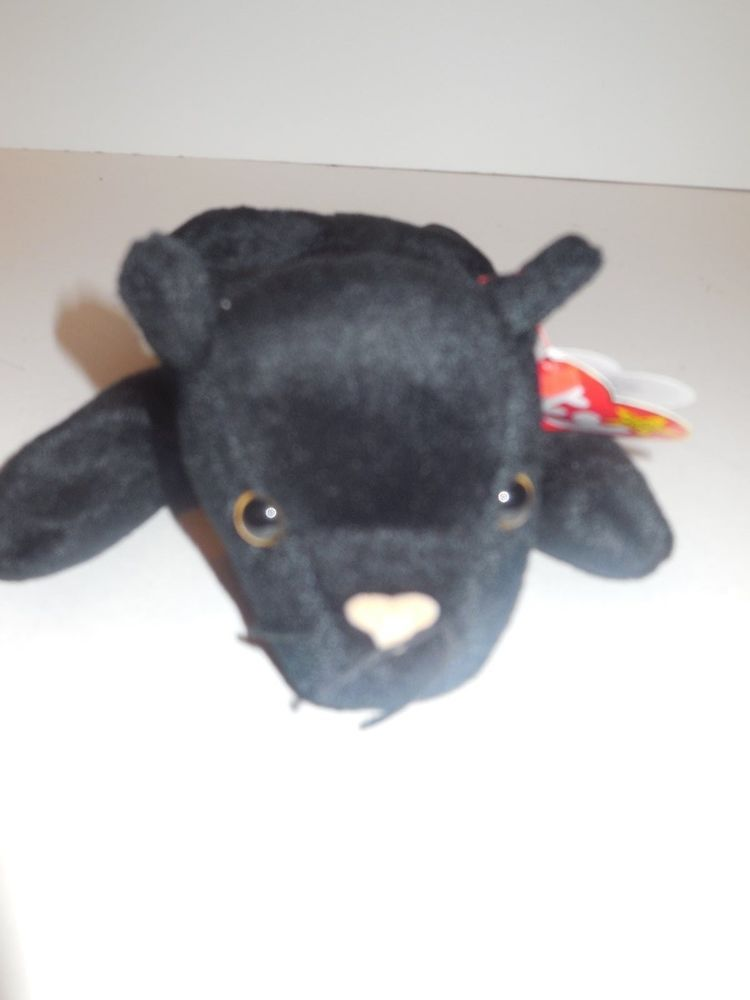 Ty Beanie Baby Velvet the Black Panther 1995 Retired MWMT  Ty ... d06bbdef7fc