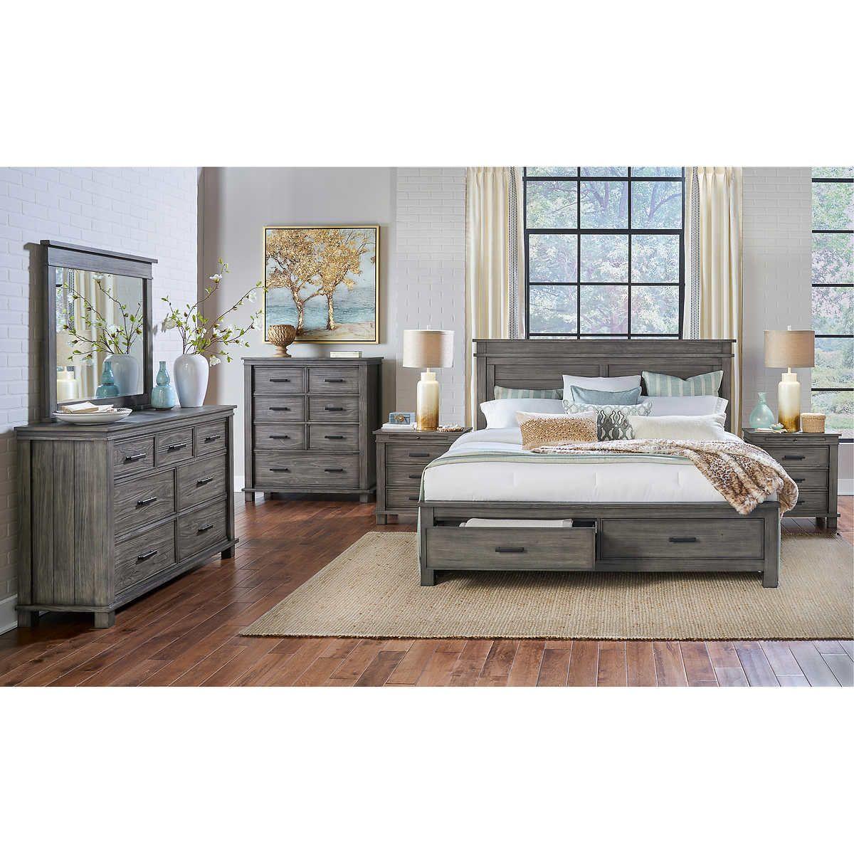 Bianca 6piece King Bedroom Set King bedroom sets