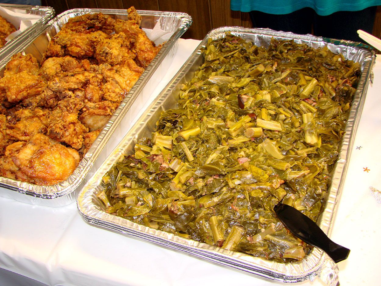 A catered luncheon with soul southern recipes soul food