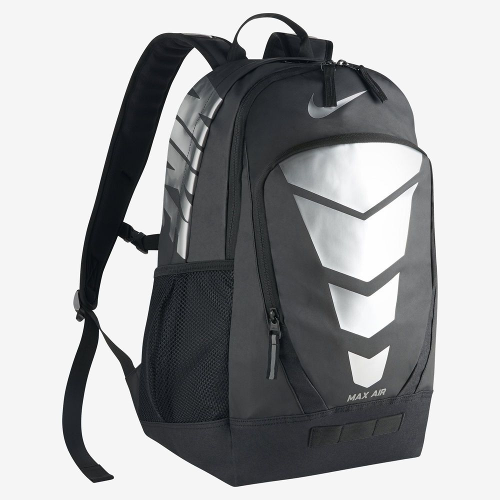 f4bfde5b0c Nike Air Max Vapor Energy Backpack Black Silver BA5108-012 FREE SHIPPING