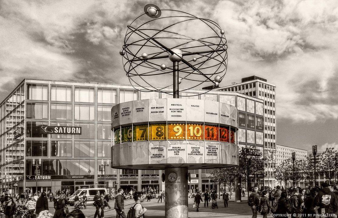Berlin World Clock World Clock Berlin Clock