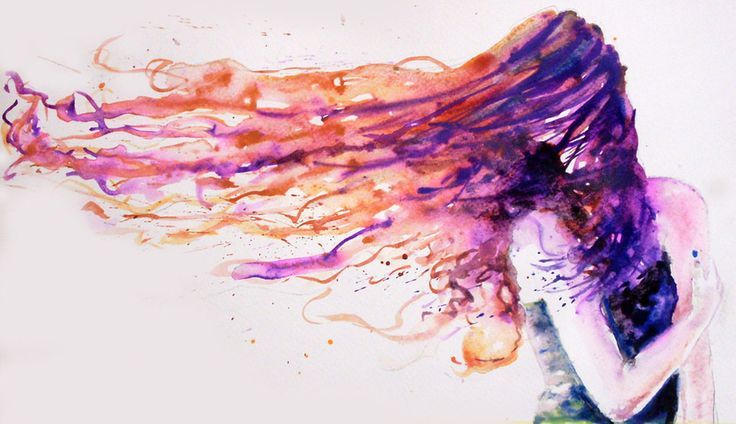 Wind Flowing Hair Woman Google Search Wind Art Hair In The