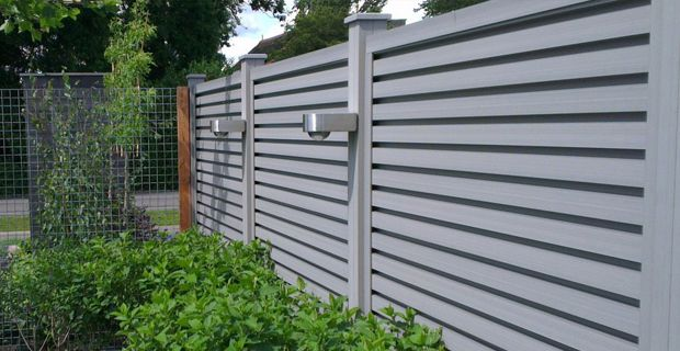Maintenance Free Wood Plastic Composite Wpc Fence Panel 2