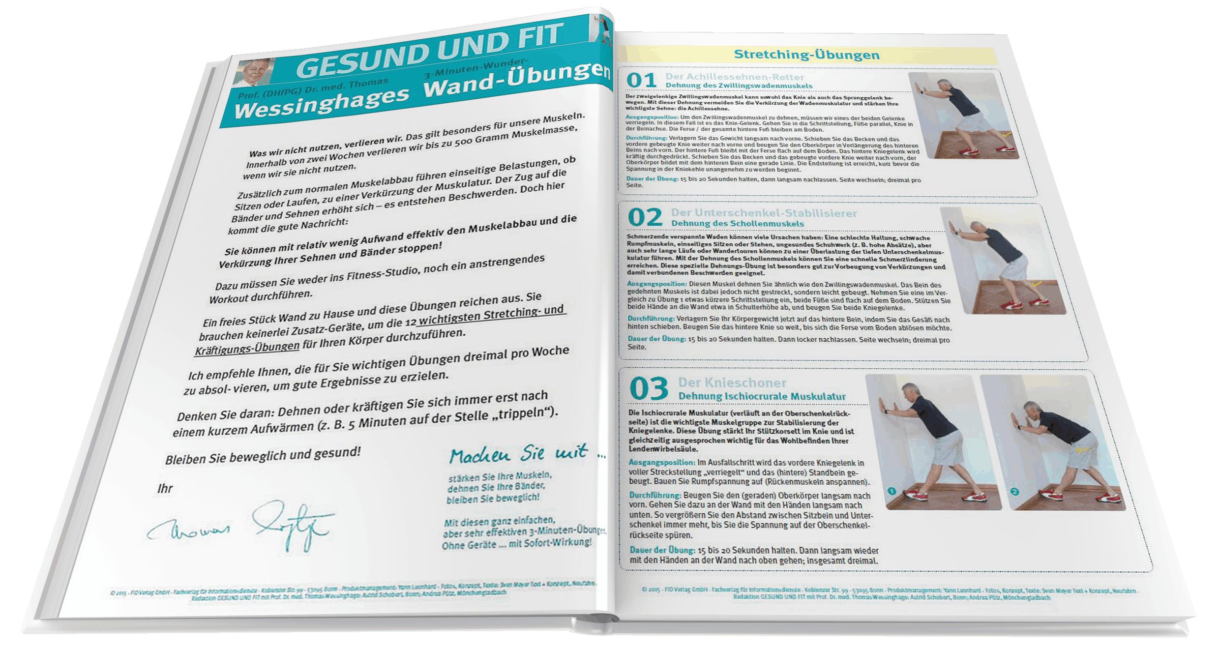 Prämie Vorschau – Wunderübungen Wessinghage20   Übung, Training zu ...