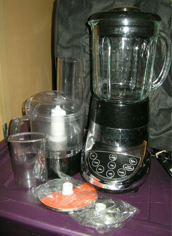 Cuisinart smart power duo blender food processor combo