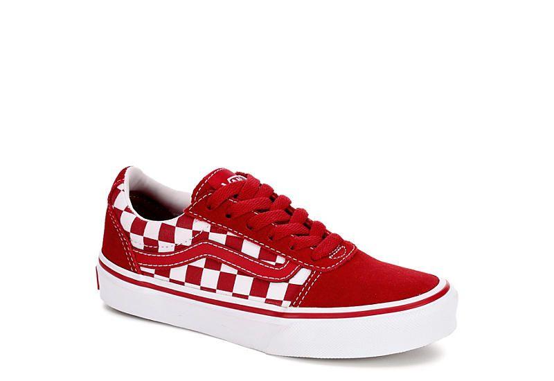 Red vans, Vans