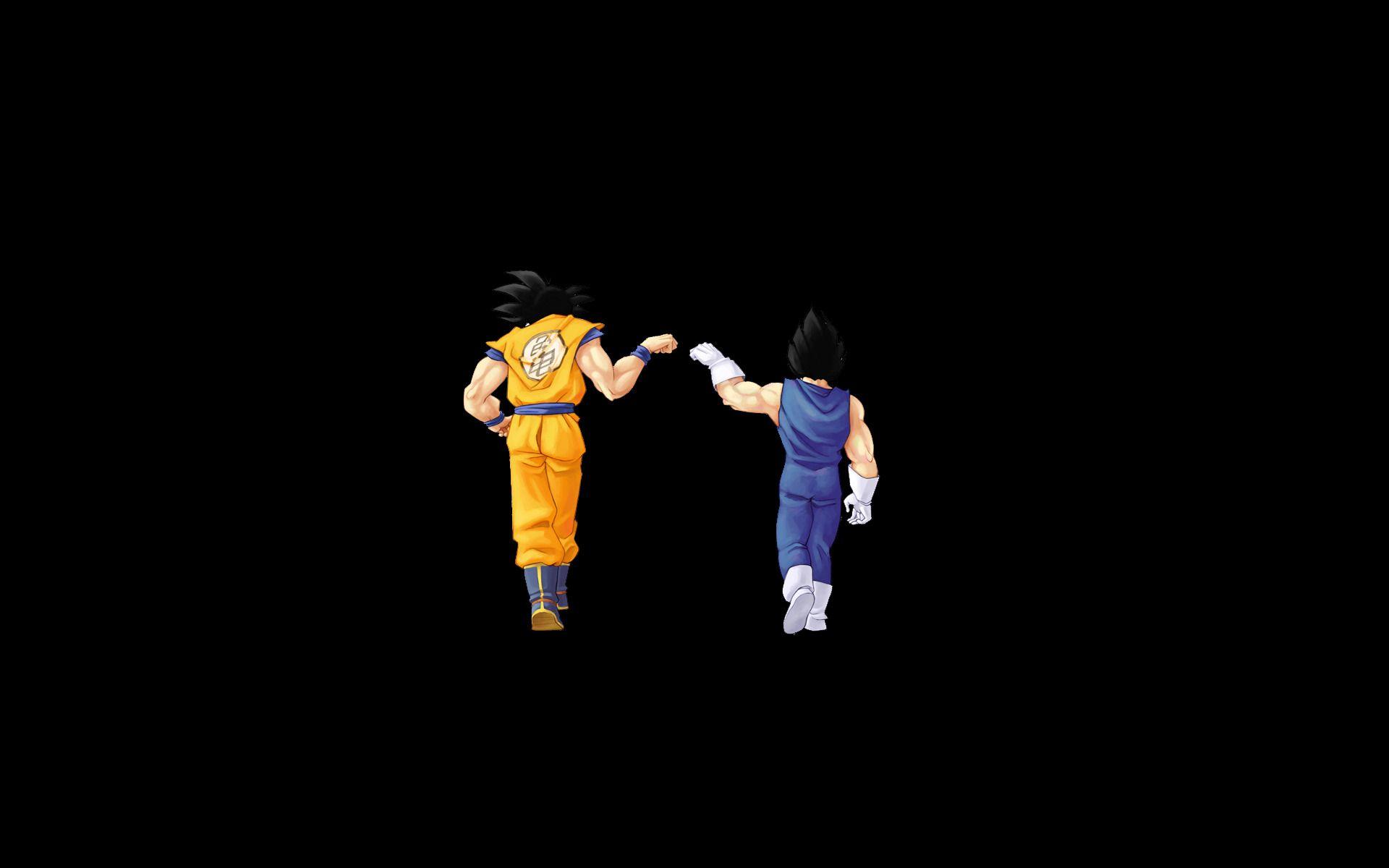 Dragon Ball Z Goku And Vegeta Black Background Wallpaper Dragon Ball Z Iphone Wallpaper Goku Wallpaper Dragon Ball Wallpapers