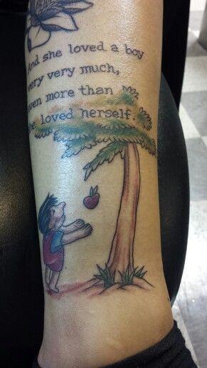 Christmas Tree Tattoo Small.The Giving Tree Tattoo Tattoo Ideas Giving Tree Tattoos