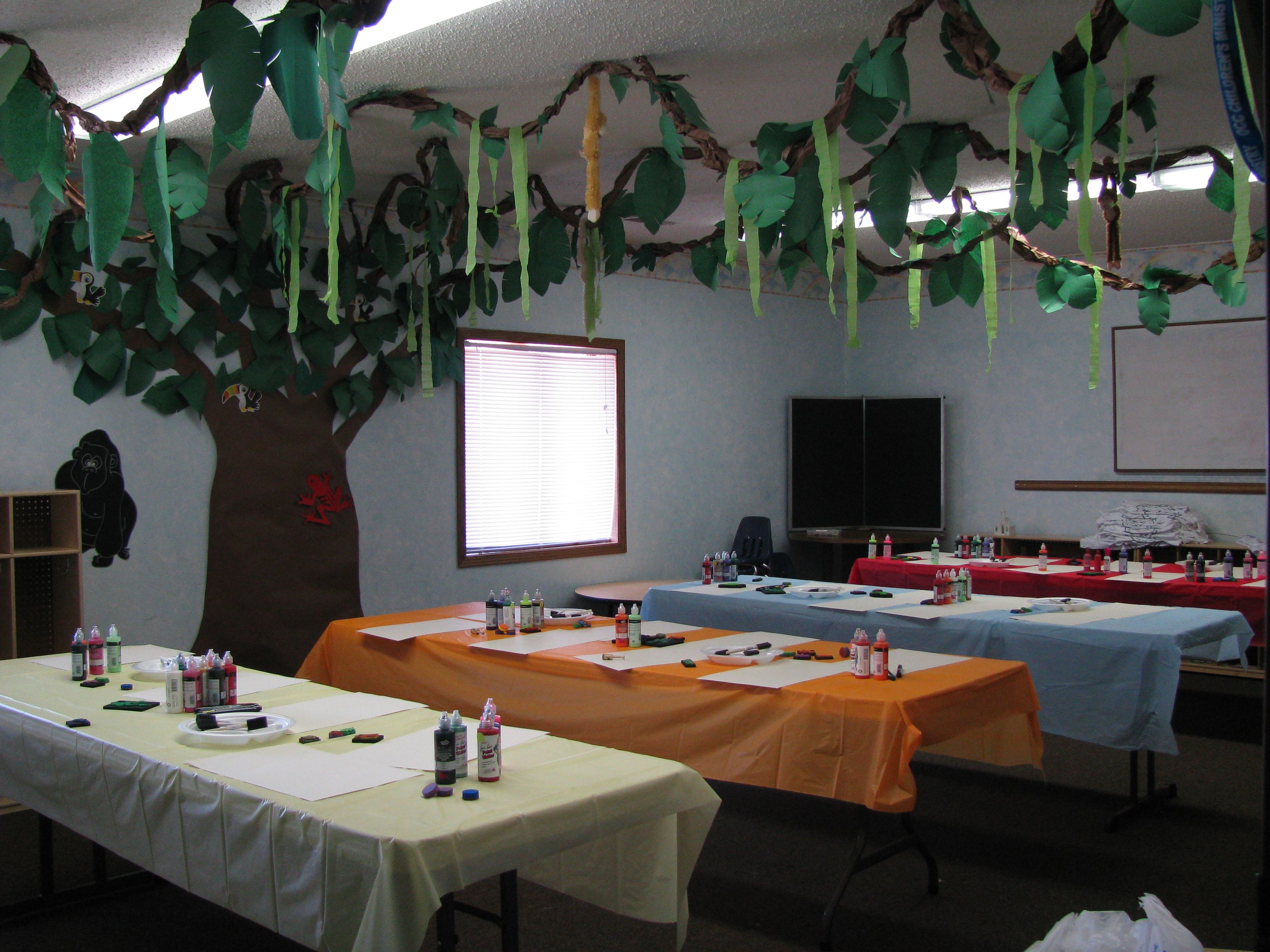 Classroom Decorating Forest Theme ~ Jungle theme classroom bulletin board ideas for