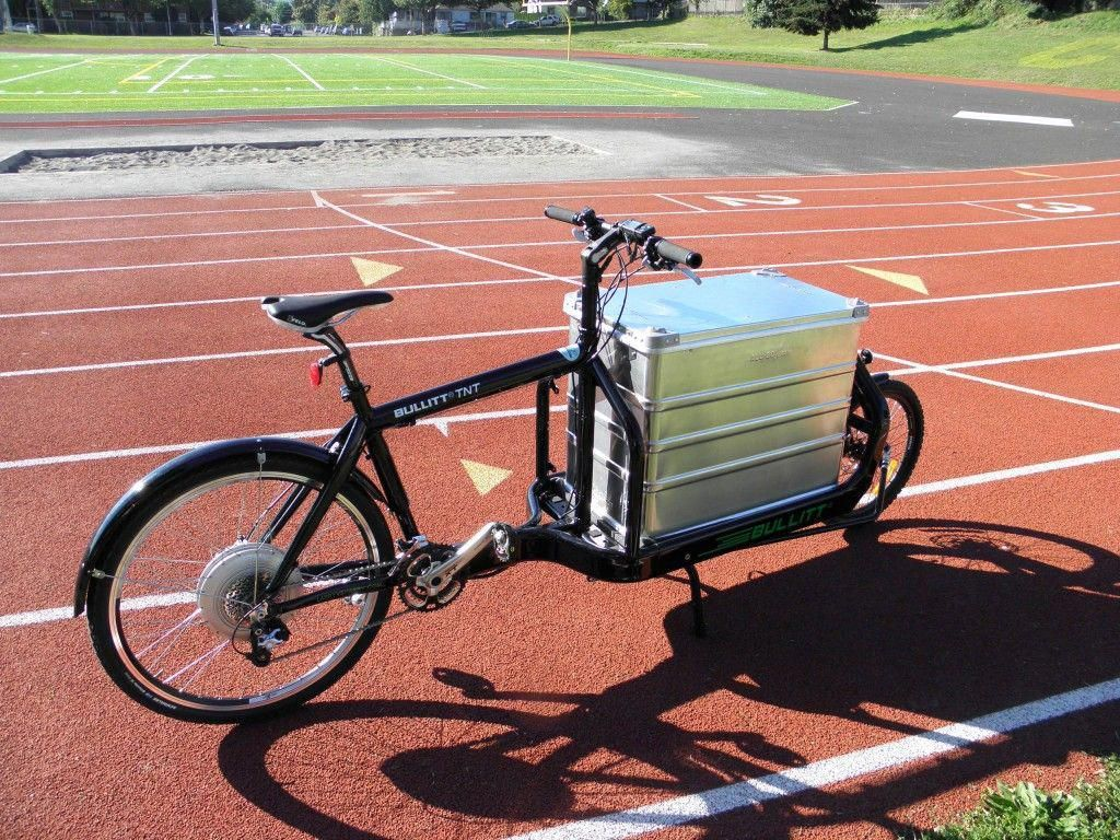 Giant Battery Box Solar Powered Electric Bike Cargo Bike Bullitt Cargo Bike Bicycle