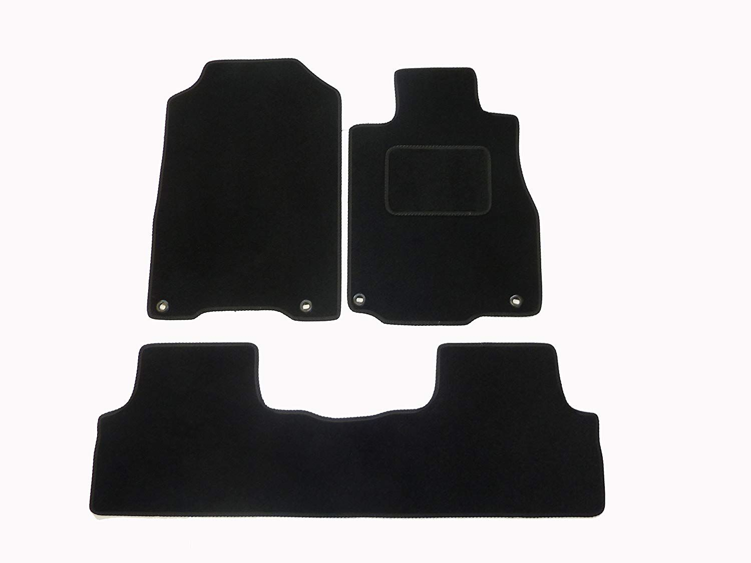 Connected Essentials Honda Crv Floor Mats 2017 2016 By Deluxe Mat In Black With Trim Price