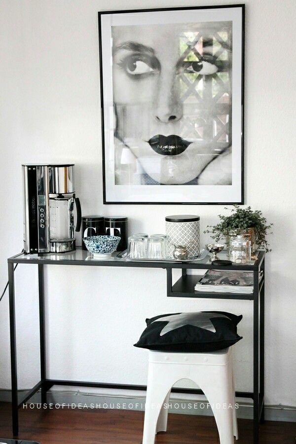 ikea vittsj budget decorating ideas pinterest inredning ikea och heminredning. Black Bedroom Furniture Sets. Home Design Ideas