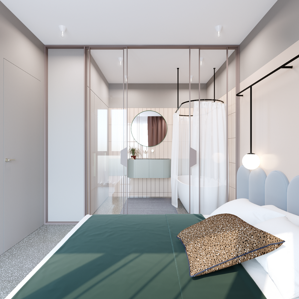 45 Sq Meters Apartment On Behance