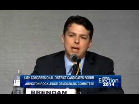 BEST SPEECH EVER!! #Hope Brendan Boyle - ARDC PA-13 Candidate - closing statement