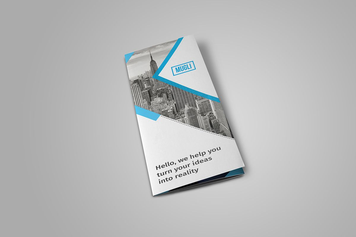free tri fold brochure template download on behance - Free Tri Fold Brochures Templates Downloads