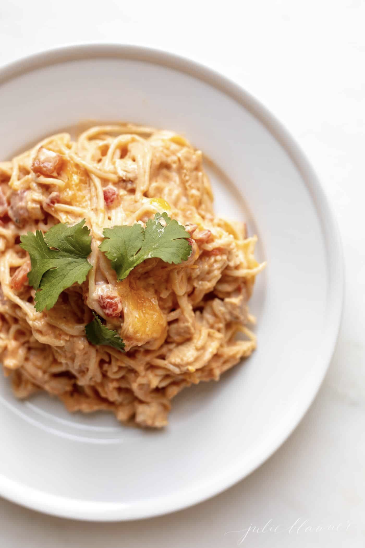 Mexican Spaghetti   Julie Blanner #mexicanspaghetti mexican spaghetti.