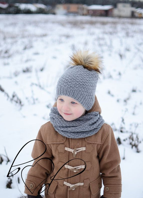 e1010c8187f Hand Knitted Toddler Hat Knit Kids Winter Hat Knit by belovedLT