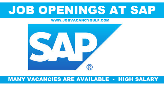 Job Openings At Sap Job Opening Job Sap