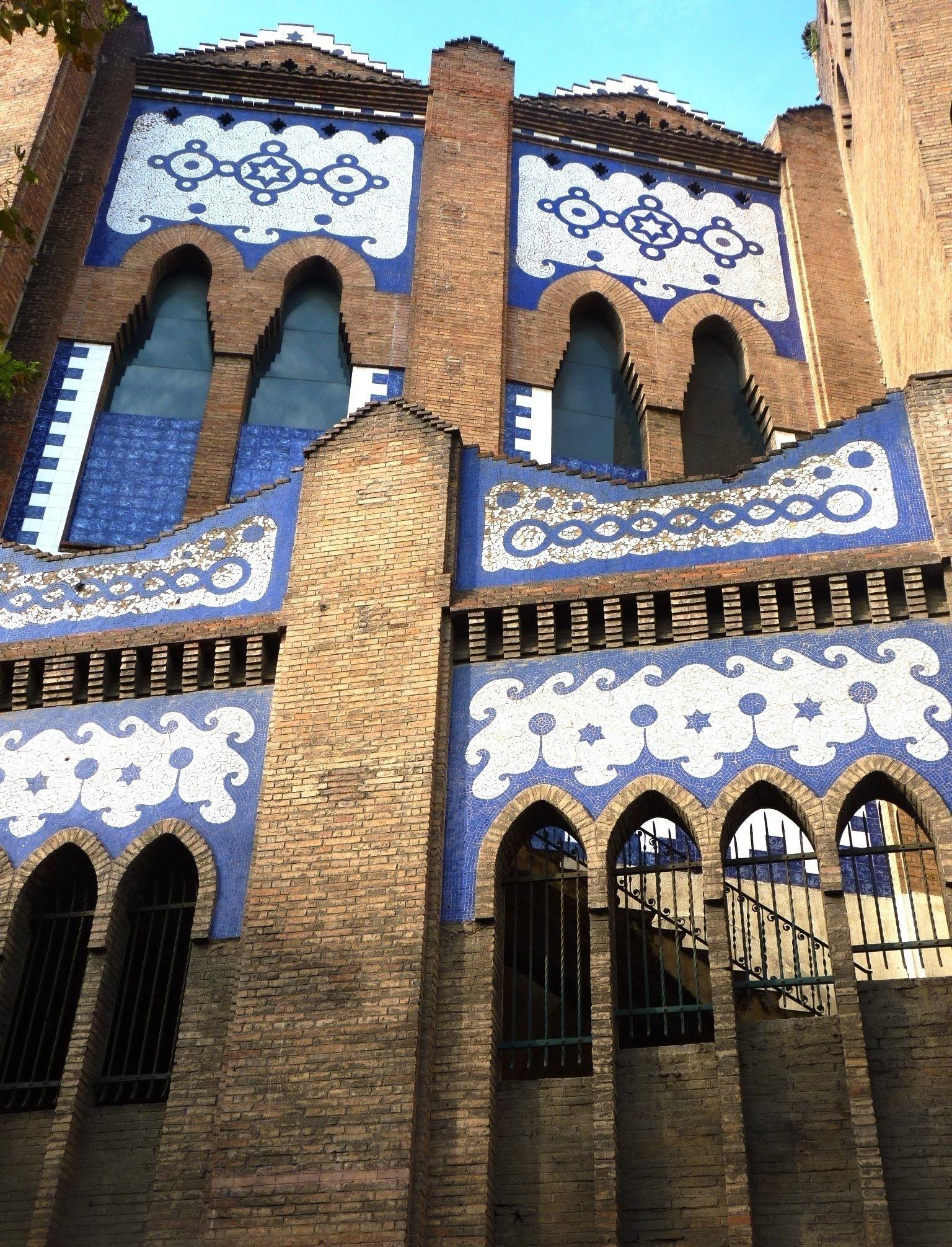 Plaza de toros la monumental barcelona arquitectura - Arquitectura barcelona ...