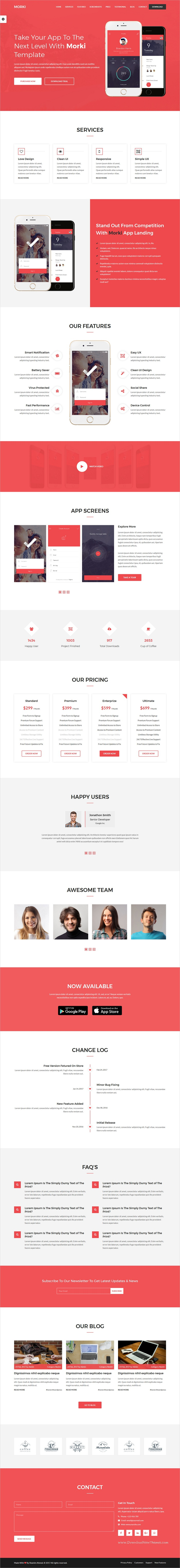 Morki is clean and modern design #HTML4 template for professional ...