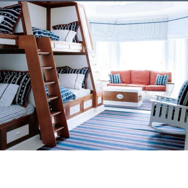 Great Bunk Room With Sofa Bunk Beds Built In Bunk Rooms Bunk Room