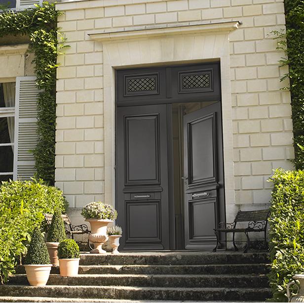 Impressionnant Decoration De Porte D Entree #12: Adapter Sa Porte Du0027entrée Au Style De Sa Maison