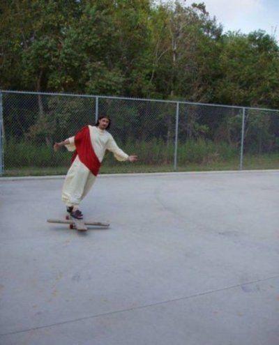 Skating Jesus