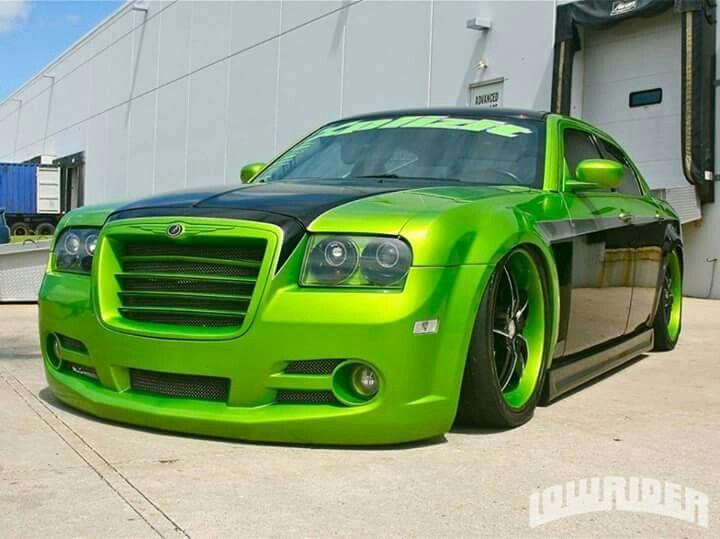 Lime Green Love It Chrysler Chrysler 300c Chrysler 300