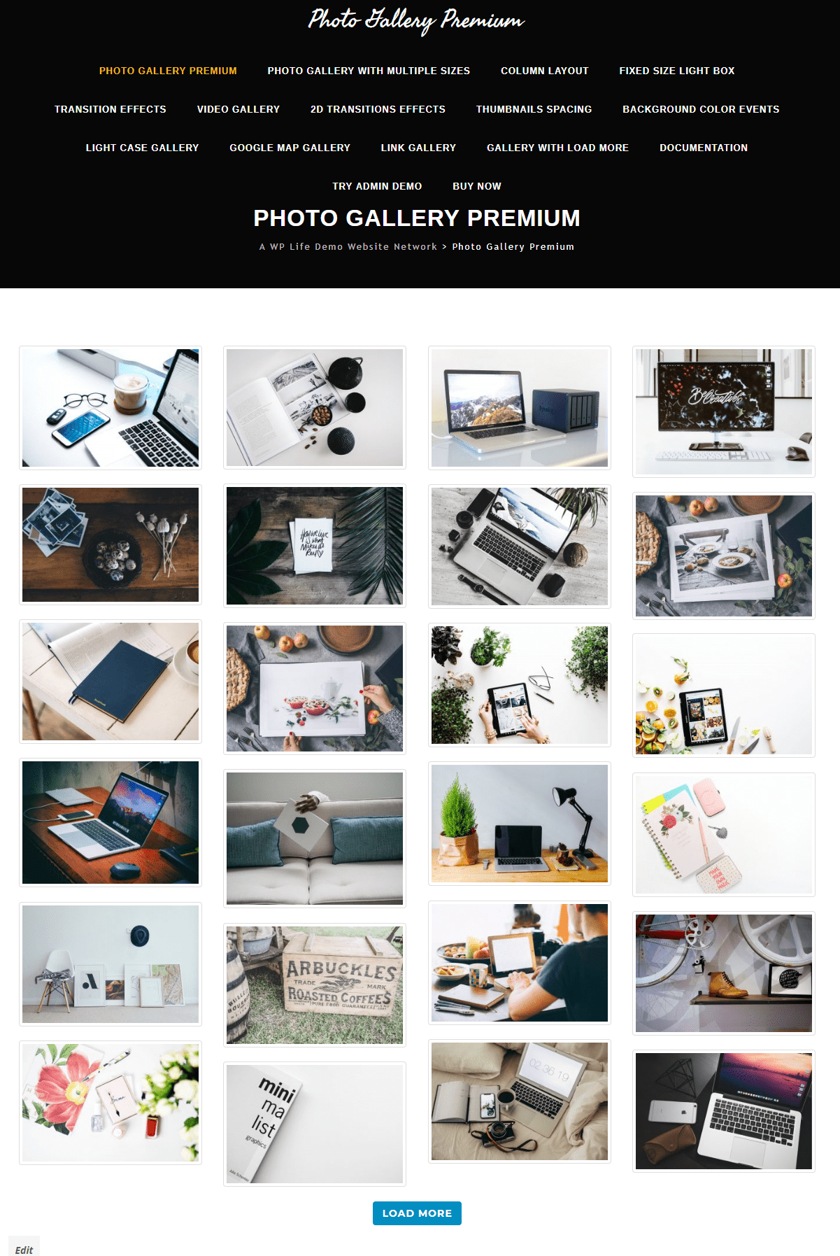 Photo Gallery wordpress plugin A WP Life Plugins