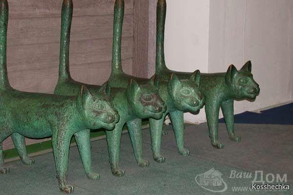 Фото без названия (с изображениями) | Кошачий арт, Статуи ...