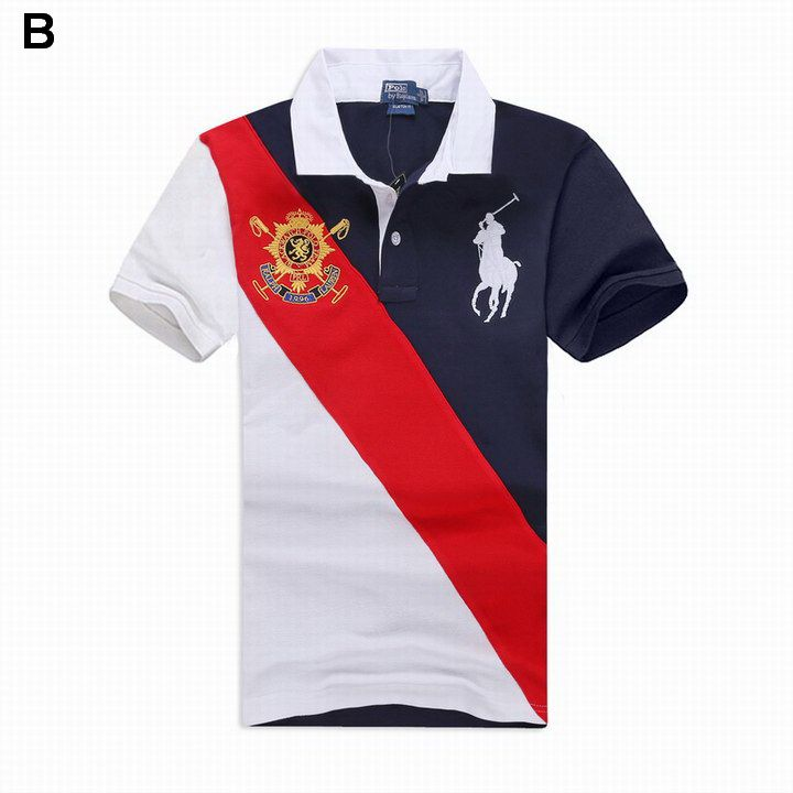 49cafc7597e Ralph Lauren Men Black Watch Sash Big Pony Polo Navy Red White ...