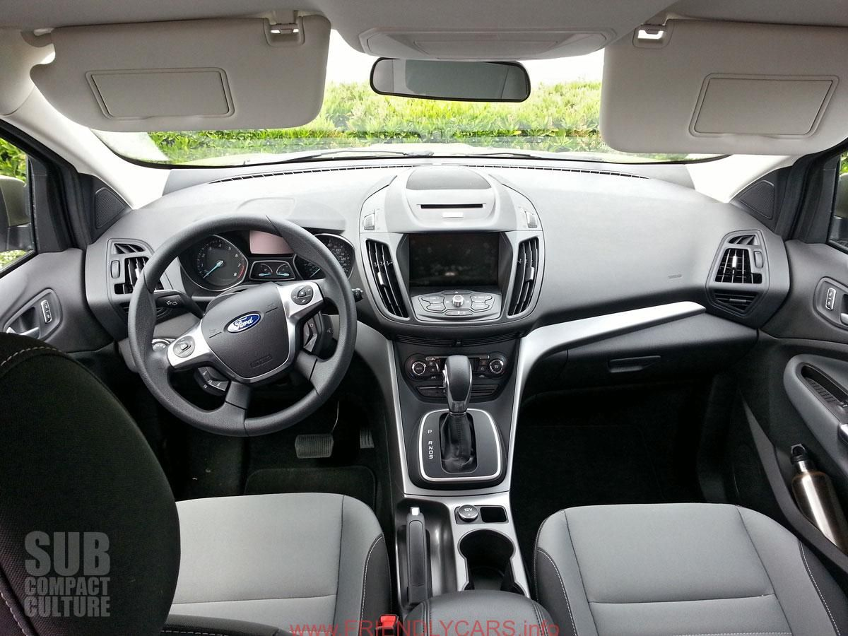 Cool Ford Escape 2012 Interior Car Images Hd Subcompact Culture