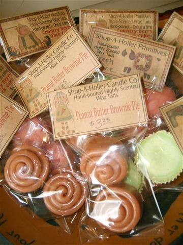 Wax Fake Food Cinnabun Scent Wax Melts 2 Pack Sampler Cinnamon Bun Candles Bakery Wax Tarts Cinnamon Bun Shape Tart Candles