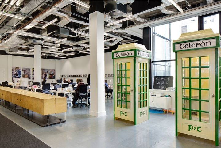 Airbnb office by Heneghan Peng, Dublin – Ireland