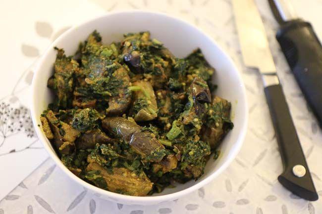 how to cook aloo baingan ki sabji