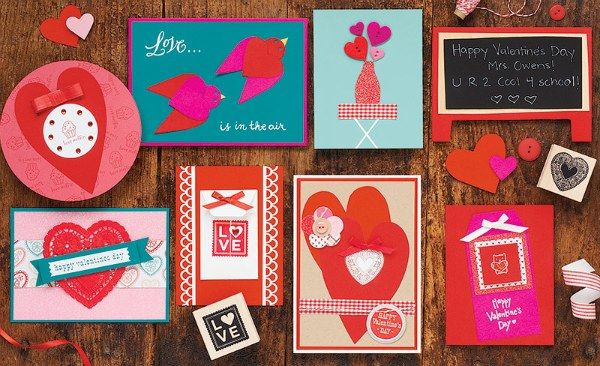 Hand made valentines are so much cooler than the store bought ones. ♥
