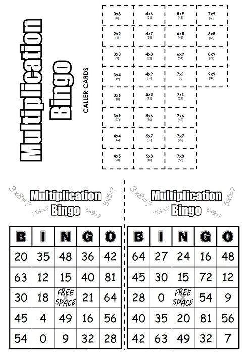 check out this multiplication bingo game math math multiplication multiplication third. Black Bedroom Furniture Sets. Home Design Ideas