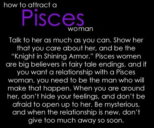 How To Attract A Pisces Woman
