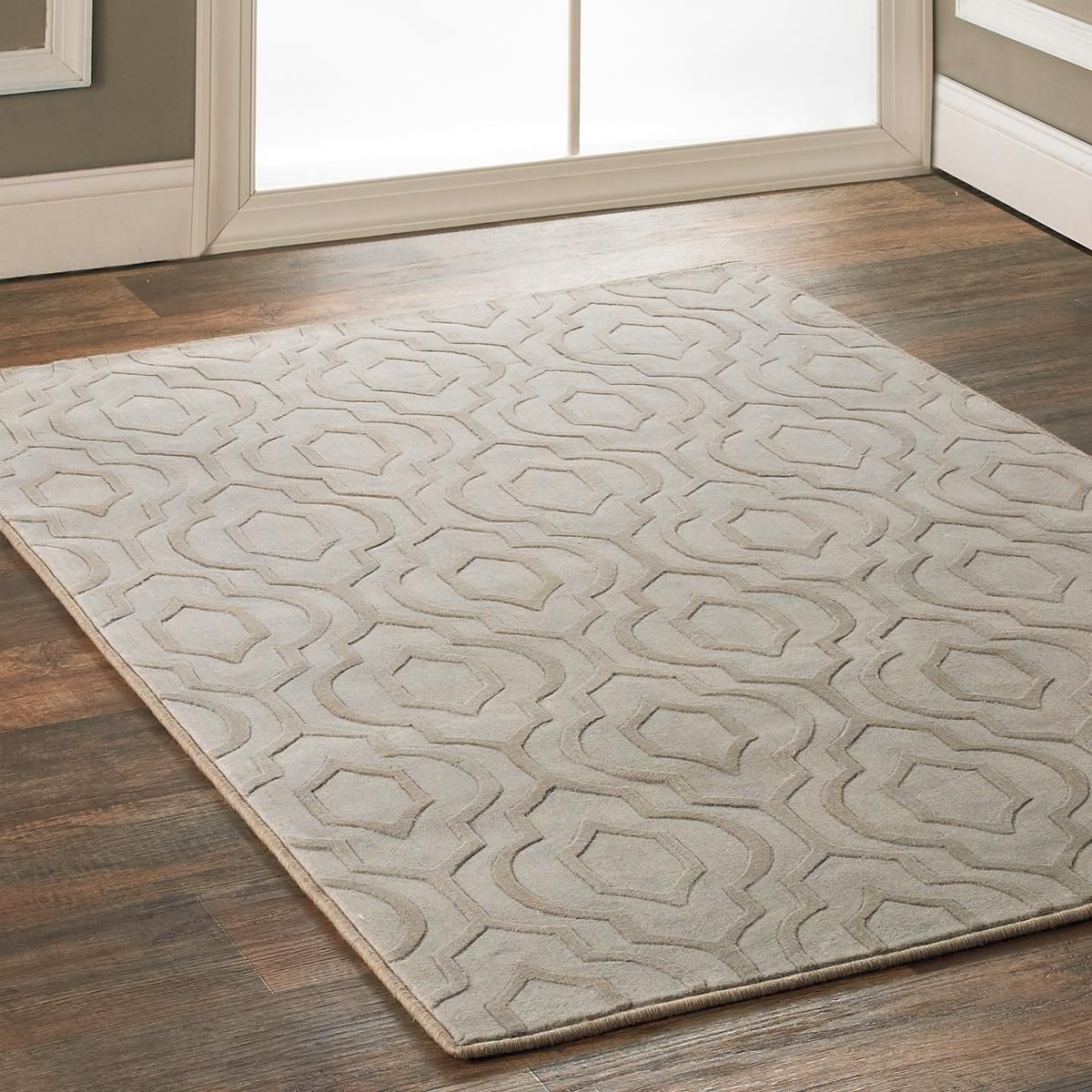 Blue Arabesque Rug Living Room: Beige Carpet Bedroom, Plush