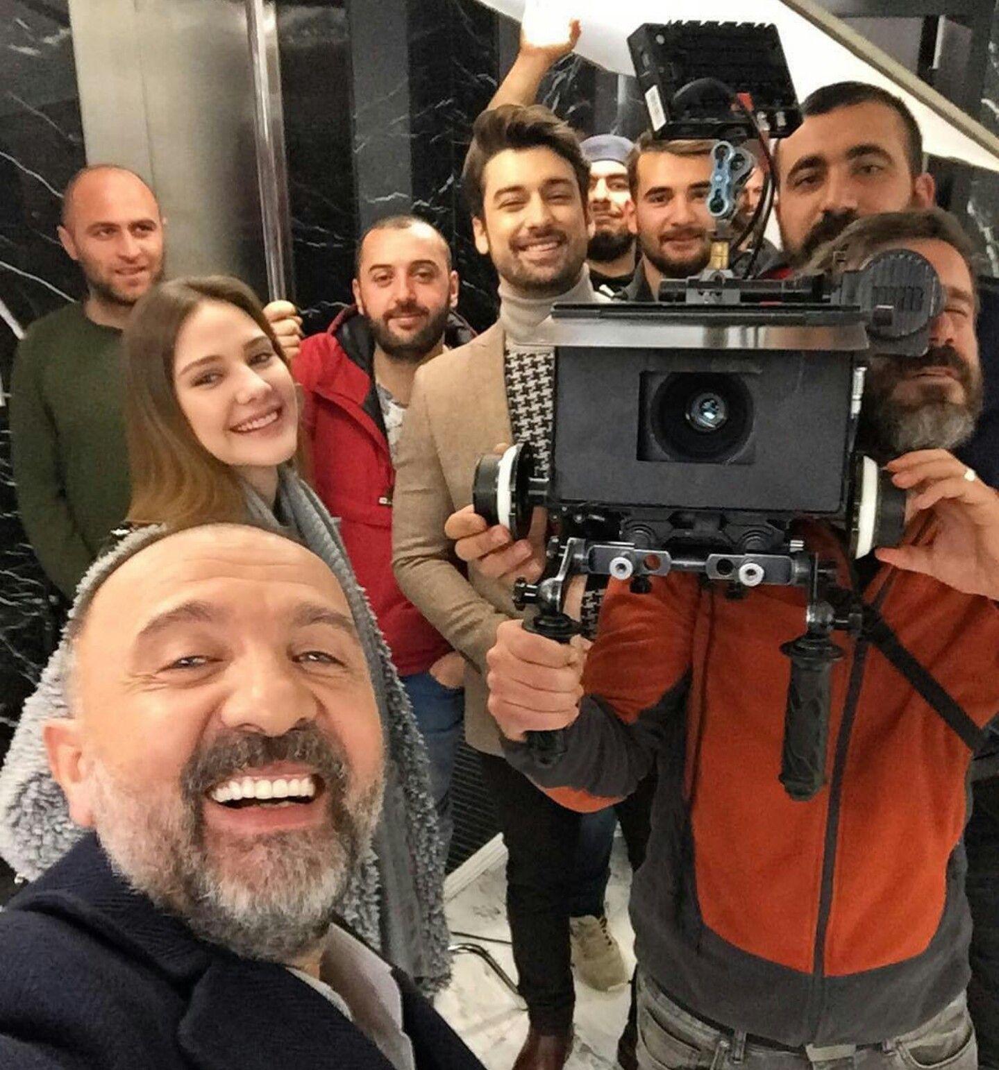من كواليس مسلسل لا تترك يدي Turkish Actors Alina Boz Istanbul Turkey Photography