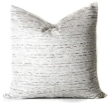 Glisten Square Cushion Cover - modern - Decorative Pillows - Grandiflora Home + Decor
