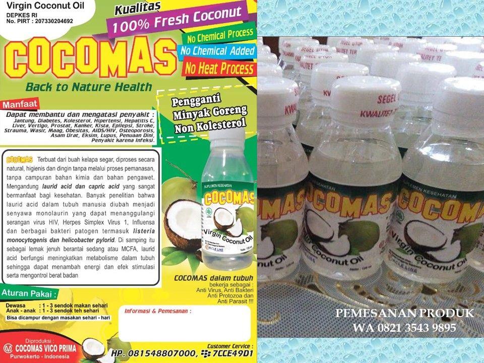 [Distributor] Minyak VCO Diet Ketogenik di Jawa Tengah