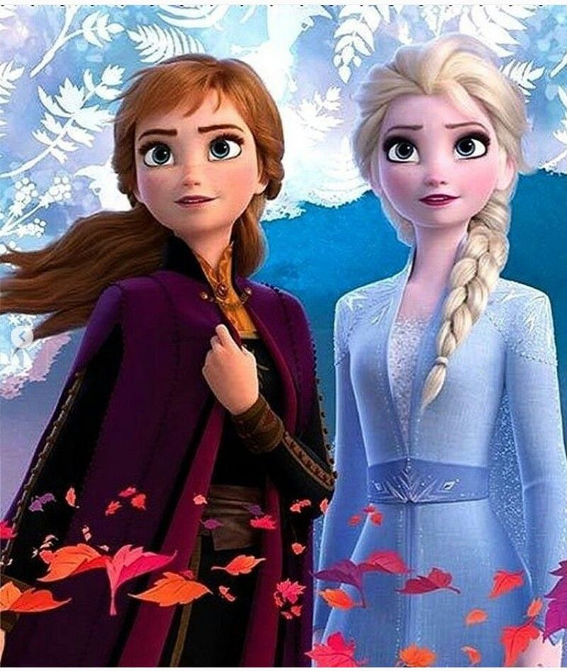 *PRINCESS ANNA & ELSA (The Snow Queen) Frozen, 2013