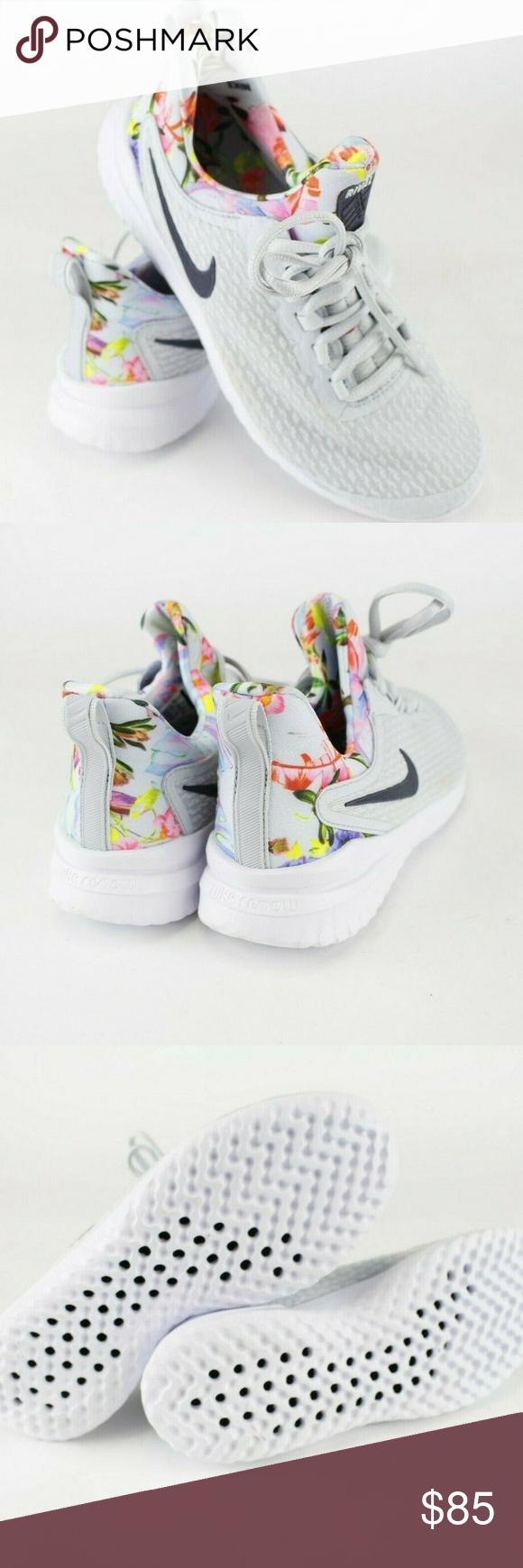 Nike Wmns Renew Rival Premium Floral Print Womens Running Shoes AV2606-001