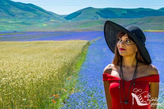 With Infinity Glamour: Una passeggaiata nel mosaico naturale di Castelluccio