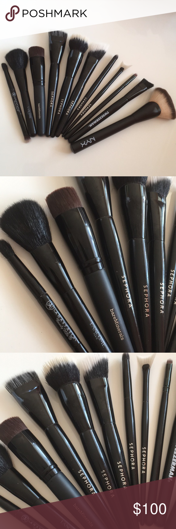 Sephora lancôme anastasia bh makeup brush set Makeup