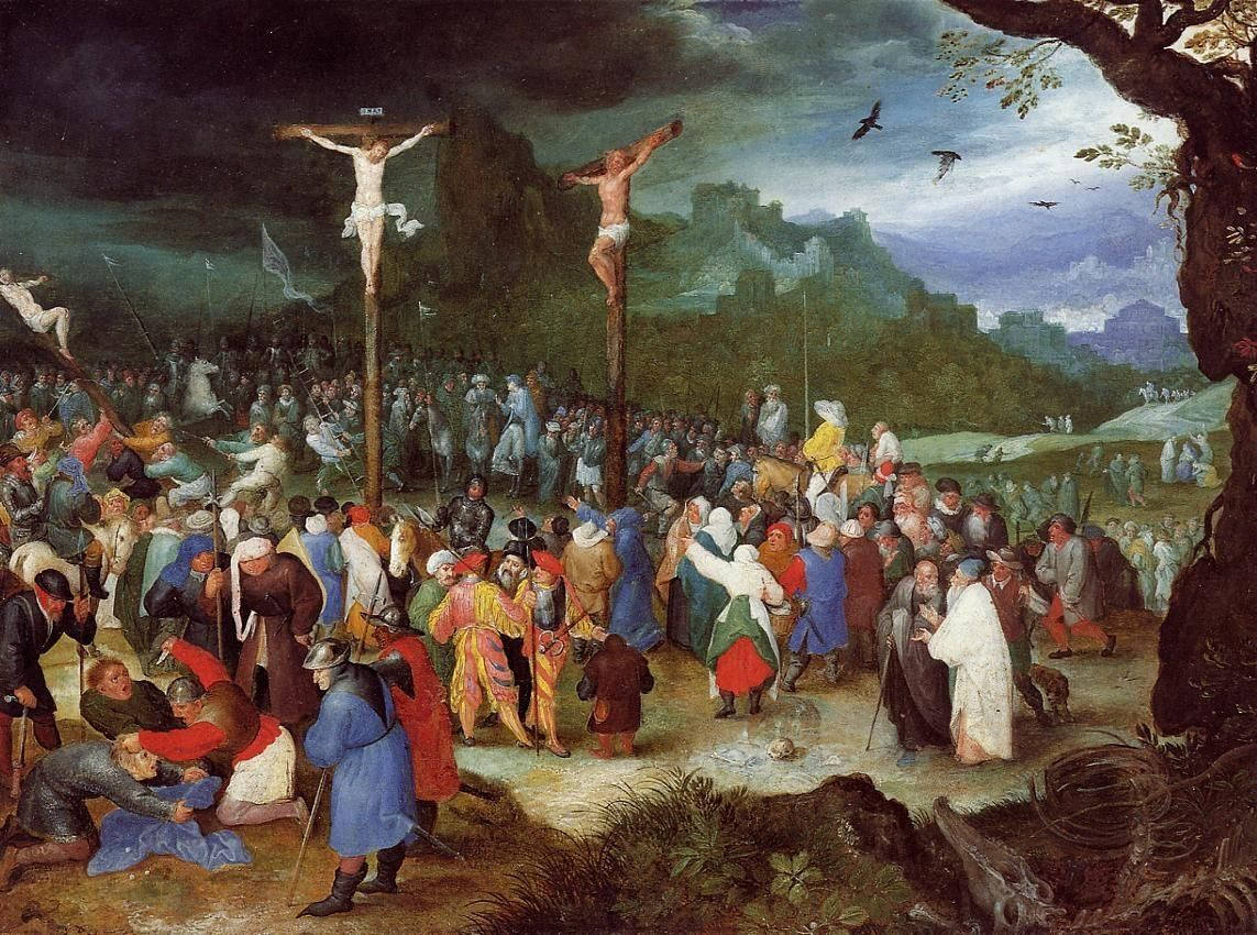 Image result for the crucifixion painting